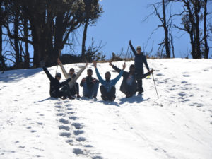 Fun at Nag Tibba Summit